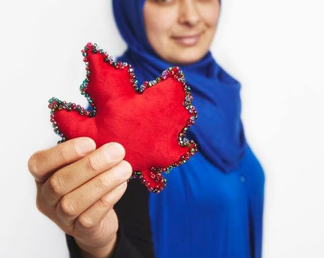 Syrian Canadians Start A New Life…one stitch at a time!